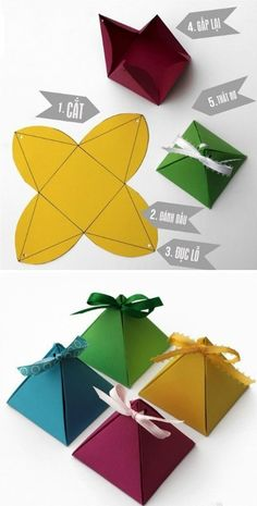 The way to make cards and gift boxes simple 2