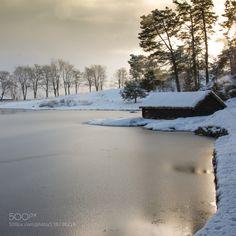 Golden winter mood by steinlauritsen  Ålesund Alesund Borgundgavlen More og Romsdal Møre og Romsdal Norway Scandinavia Sunnmore Sunnmøre S