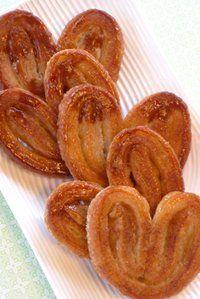Recette de palmiers. Plus de recettes pour bébé sur www.enviedebienmanger.fr/idees-recettes/recettes-pour-bebe