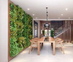 Est-ce que vous avez entendu parler d'un mur végétal? C'est un mur recouvert de végétation qui peut être situé aussi bien à l'intérieur qu'à l'extérieur qui