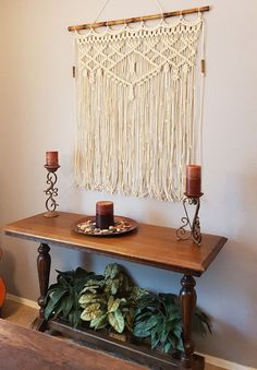 Large Macrame Wall H