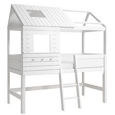 "LIFETIME Kidsrooms   Mid-high hutbed ""Silversparkle"""
