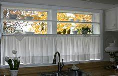 Half Curtain For Kitchen Window