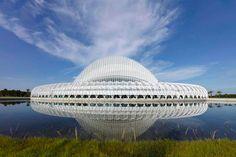 El arquitecto español, Santiago Calatrava, diseñó el edificio de la Universidad Politécnica de Florida en Lakeland, que se especializa en las áreas de ciencia, tecnología, ingeniería y  matemáticas.