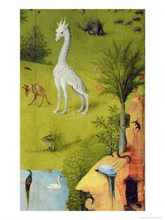 The Garden of Earthly Delights, c.1500 Giclee Print by Hieronymus Bosch at Art.com