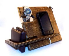 Valentine's Day Gift, Anniversary Gifts for Men, iPhone Dock, Docking Station