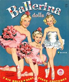 I loved paper dolls as a little girl.