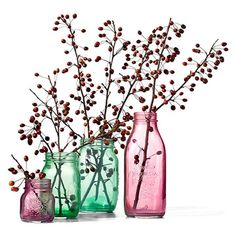 Love these Color Wash mason jars!