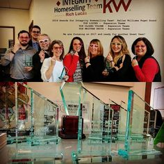 Exciting morning for our team (Integrity Homeselling Team)! At the Vision Awards breakfast for Keller Williams Puget Sound our team swept the Expansion Team category! Integrity Homeselling Team took home Top Lister, Top Closed Volume and Top Written.  I'm excited for 2017 and the vision we have to help our clients achieve their personal and financial goals.