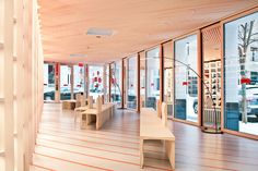 Shigeru Ban Builds A Store For Camper, Made Of Paper And Awesomeness