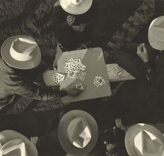 [Card Players, Los Angeles, California], 1949 - Max Yavno (American, 1911 - 1985) © 1988 Center for Creative Photography, The University of Arizona Foundation / The J. Paul Getty Museum, Los Angeles, Gift of Nancy and Bruce Berman