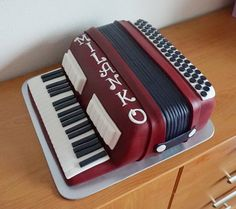 Music Themed Cakes, Music Cakes, Beautiful Cakes, Amazing Cakes, Alternative Wedding Cakes, 90th Birthday Cakes, Torte Cake, 3d Cakes, No Bake Cake