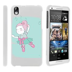 Buy HTC Desire 816 Case, Snug Fitted Hard Protector Stylish Snap On Cases for HTC Desire 816 (Virgin Mobile) from MINITURTLE | Includes Clear Screen Protector and Stylus Pen - Dancing Girl NEW for 10.99 USD | Reusell