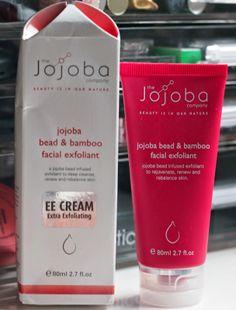 Review: The Jojoba Company - Jojoba Bead & Bamboo Facial Exfoliant EE Cream Organic Skin Care, Cleanse, Bamboo, Facial, Personal Care, Wallet, Beads, Beading