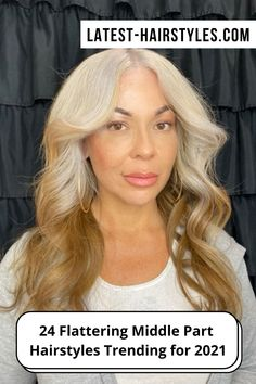 If you're looking for inspiration before your next hair appointment, check out our photo collection of middle part hairstyles now! (Photo credit Instagram @viridiana_doeshair) Middle Parts, The Middle, Diy Beauty, Beauty Hacks, Middle Part Hairstyles, Latest Hairstyles, Hair Trends, Photo Credit, Makeup Tips