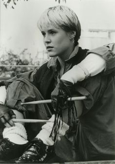 "Mary Stuart Masterson portrarys Watts in the movie ""Some kind of Wonderful"". 80s Movies, Movie Tv, Maria Stuart, Mary Stuart Masterson, Moving Pictures, My Collection, Classic Movies, Movies Showing, Actors & Actresses"