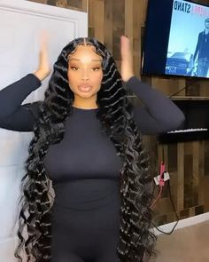 Weave Ponytail Hairstyles, Black Girl Braided Hairstyles, Baddie Hairstyles, Black Women Hairstyles, Birthday Hair, Hair Laid, Hair Videos, Hair Looks, Hair Inspiration