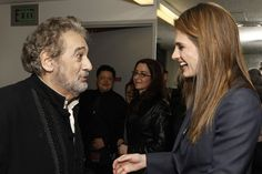 Placido Domingo & Stana Katic, both set for the LA Opera Gala on fall's Los Angeles Social Calendar Stana Katic, Sutton Foster, Nick Offerman, Rob Lowe, Elisha Cuthbert, Kate Beckett, Sylvester Stallone, I Cant Even, New Life