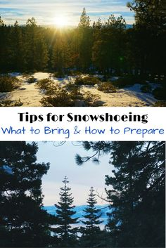 Top tips for snowshoeing. Is it your first time taking a snowshoe hike? What to pack, bring along and where. Plus how to plan you trip.