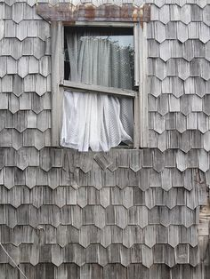 Window in Chiloe, Chile