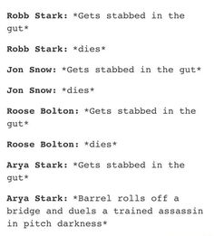 Further proof that Arya is the best character on Game Of Thrones  http://www.gameofthronescollectables.com/…/06/24/arya-is-a-boss/  #gameofthrones #gameofthronesmerchandise #aryastark