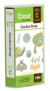 CricketVinylSupplies.com - Spring is now upon us! Celebrate with this Garden Soup Cricut Cartridge.