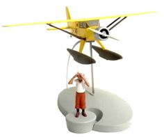 Tintin Adventures IN Planes Bellanca Pacemaker Model 1 100 Diecast NEW Blister | eBay