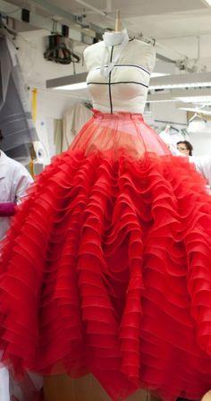 Christian Dior Haute Couture Spring/Summer 2012 by Bill Gaytten