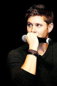 Jensen <3 I absolutely love a guy that wears bracelets!!