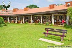 KNP - Satara - Deck Kruger National Park, National Parks, Van Niekerk, Africa Travel, Camps, South Africa, Safari, Pergola, Deck