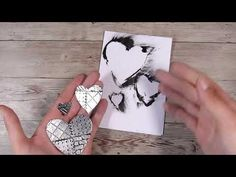 Embossing Techniques, Card Making Techniques, Aluminum Foil Art, Art Journal Tutorial, Anna Griffin Cards, Card Tutorials, Video Tutorials, Easel Cards, Cards For Friends