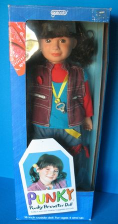 Ok, last toy post of the day...I had this doll...got it on Christmas eve from my grandparents :) I LOVED Punky!