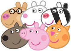 Mascaras peppa pig