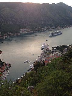 Old Town, Kotor in Montenegro