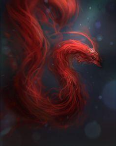 RedDragon, jeremy chong on ArtStation at https://www.artstation.com/artwork/KGRG