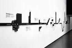 """ART+COM: Statistikband  Ausstellung """"Arbeit. Sinn und Sorge"""""""