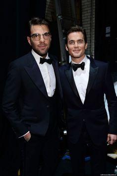 Tony Awards - 8/06/2014 - Zachary Quinto and Matt Bomer