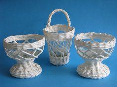 weaved lanterns