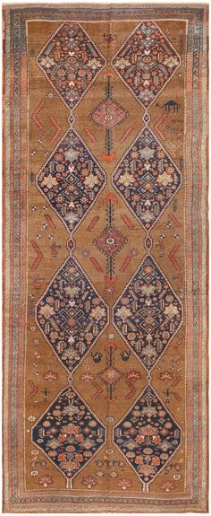 Antique Persian Bidjar Carpet 50255
