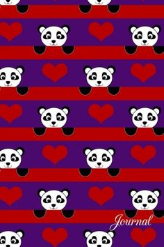 Journal: Purple red hearts stripes panda notebook by Brot... https://www.amazon.com/dp/1535243570/ref=cm_sw_r_pi_dp_x_qo3bybEJ7D090
