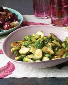 This delicious seasonal vegetable becomes sweet and nutty when browned. For the best flavor and texture, make the dish just before serving.