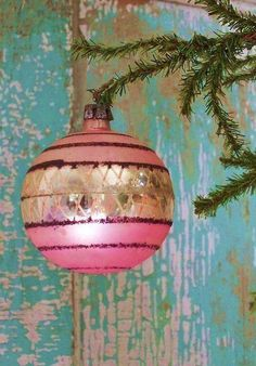 candy colored vintage Christmas