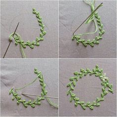 20 unique embroidery thread project ideas to challenge your creativity - Sticken Stiche - Embroidery Floss Projects, Embroidery Leaf, Embroidery Stitches Tutorial, Sewing Stitches, Silk Ribbon Embroidery, Hand Embroidery Patterns, Embroidery Techniques, Simple Embroidery, Diy Embroidery Flowers