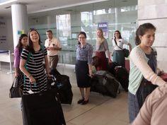 Mision Honduras Comayagüela 2012-2015. New missionaries arriving in Comayaguela on July 22, 2014.
