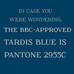 Tardis Blue