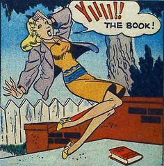 """""""Yiiii the Book!"""""""