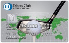 Diners Club Golf Card with chip Poland