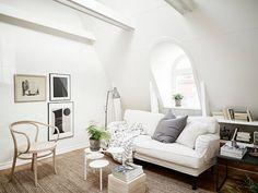 Bright attic apartment in Stockholm Daily Dream Decor