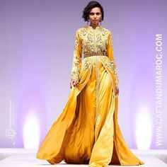 Designer: Ihssan Ghziel Couture Pour Caftan Du Maroc Fashion Show Paris…