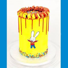 Birthday Ideas, Birthday Cake, Rabbit Cake, Yummy Cakes, Bakery, Desserts, Instagram, Design, Cakes